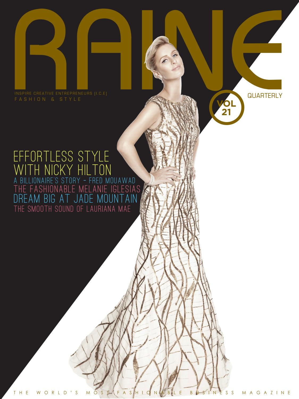 Raine 21 the fashion & style issue by raine magazine issuu.