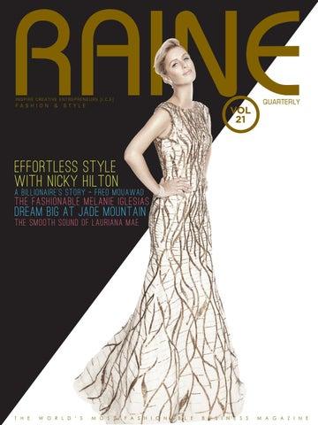 c87868ca8fcb Raine 21 - The Fashion & Style Issue by Raine Magazine - issuu