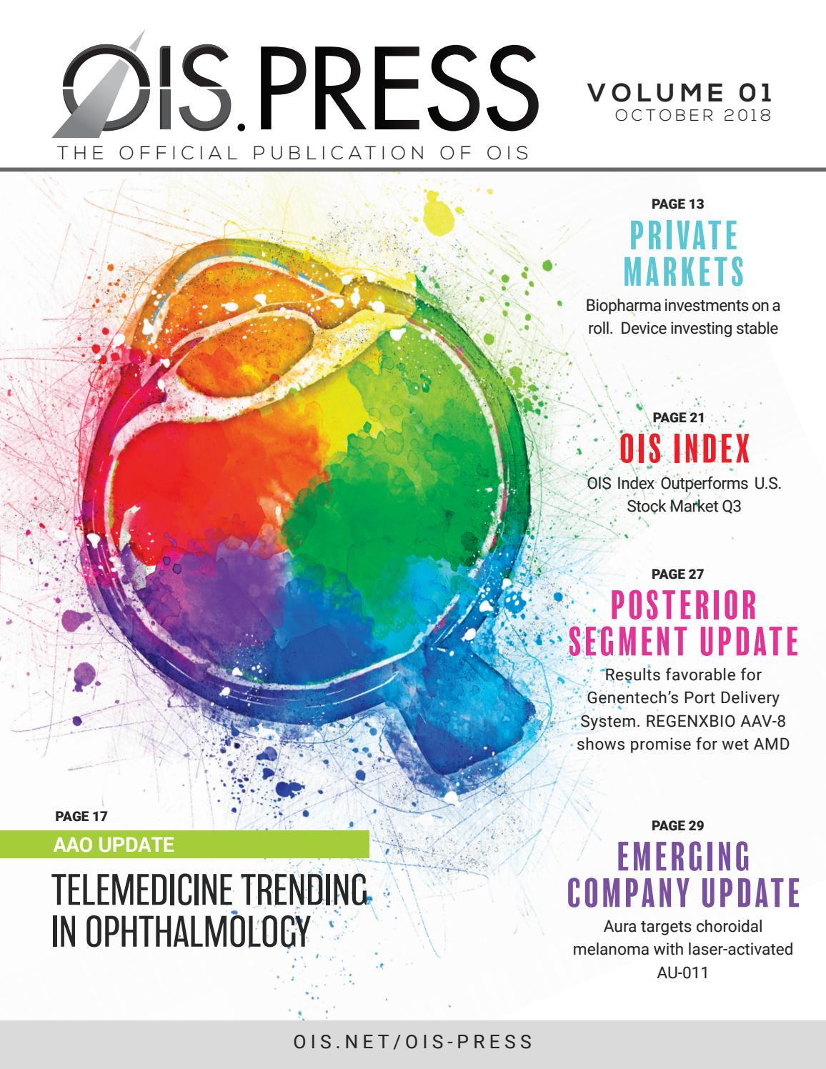 OIS PRESS - OCT 2018 Edition by Healthegy - issuu