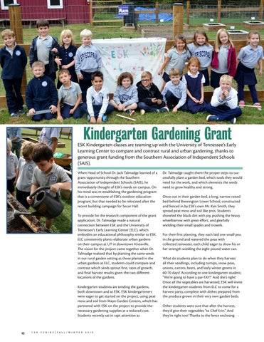 Page 10 of Kindergarten Gardening Grant