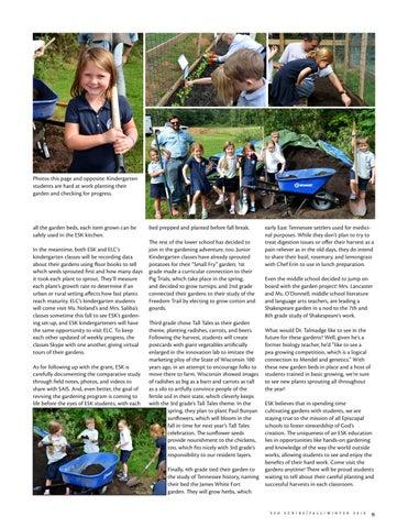 Page 11 of Kindergarten Gardening Grant