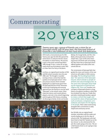 Page 8 of Commemorating 20 years