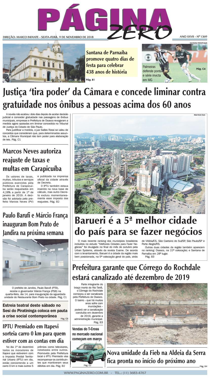 f06d3e3e0db Página Zero Edição nº 1369 (09 11 2018) by Para acessar o seu Página Zero -  issuu