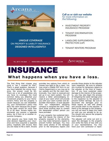 Page 10 of Insurance - How a Claim Works