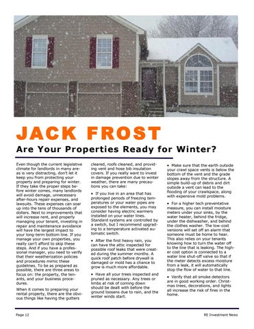 Page 12 of Get Your Property & Tenants Ready for Winter