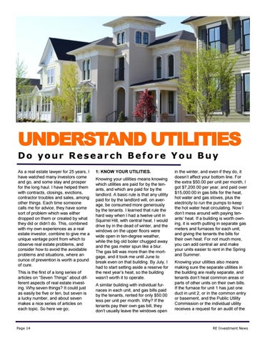 Page 14 of Be Sure to Understand How Utility Billing Works
