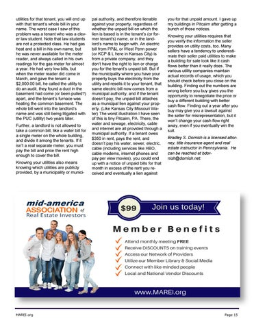 Page 15 of Be Sure to Understand How Utility Billing Works