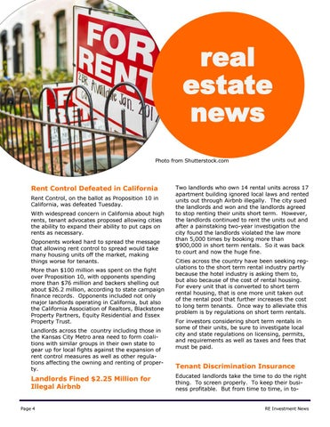 Page 4 of Real Estate News