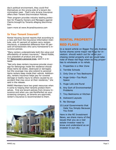 Page 5 of Real Estate News