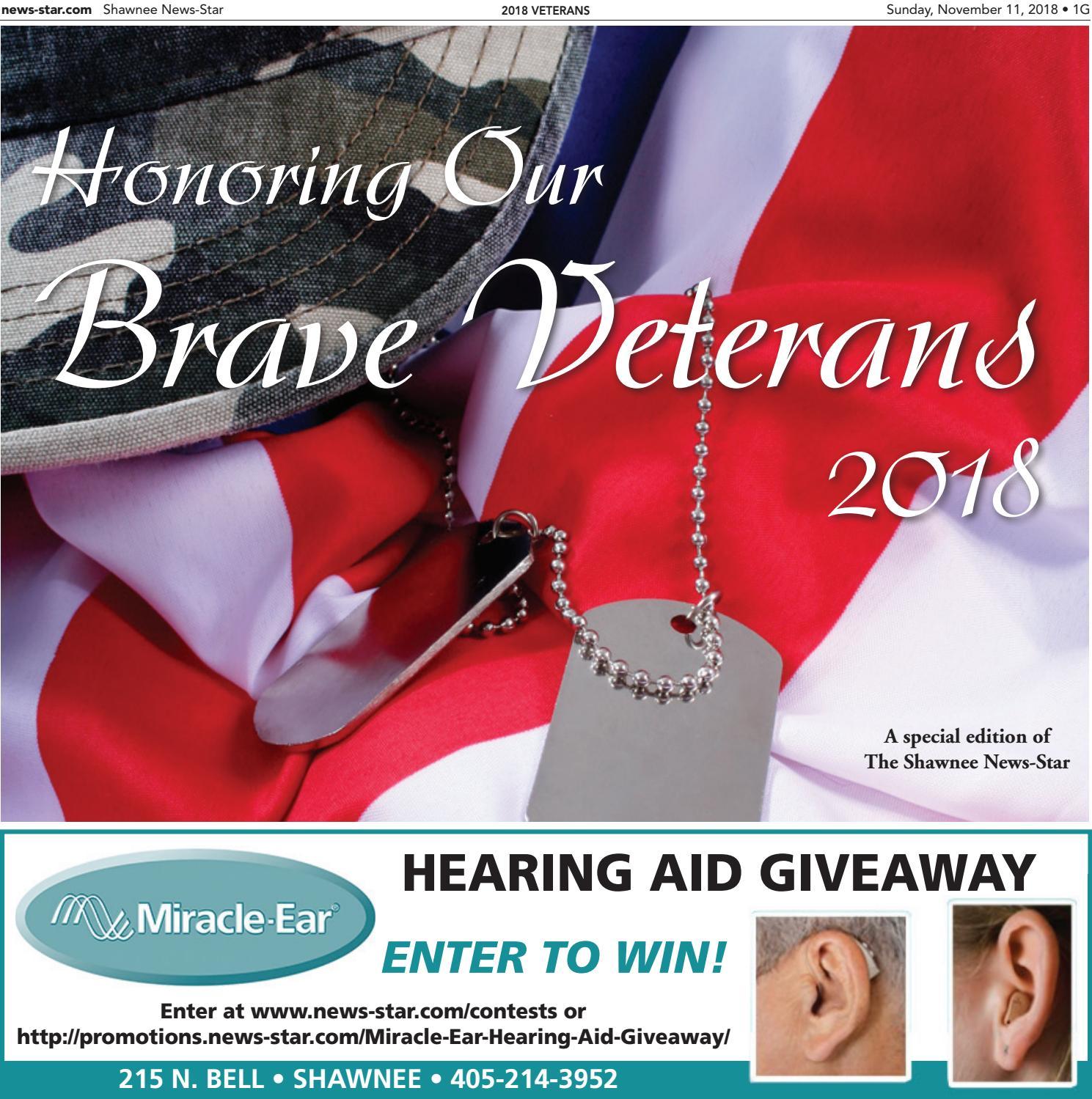 2018 Veterans by Shawnee News-Star - issuu