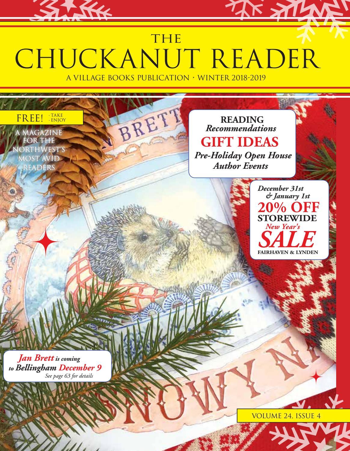 b1ed4556 The Chuckanut Reader - Winter 2018/2019 by Village Books & Paper Dreams -  issuu