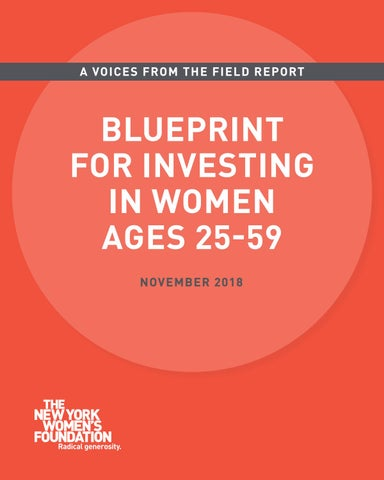 76130ac58 Blueprint for Investing in Women Ages 25-59 Full Report by The New ...