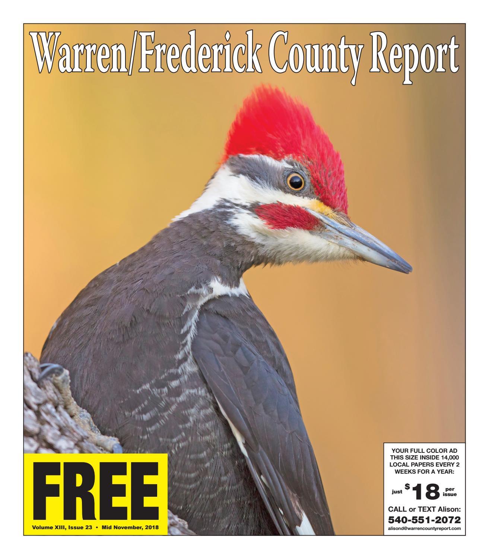 Mid November 2018 Warren/Frederick County Report by Warren/Frederick