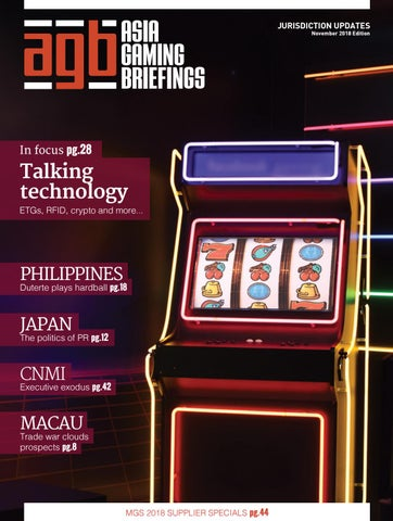 Agbriefings November 2018 by Asia Gaming Brief - issuu