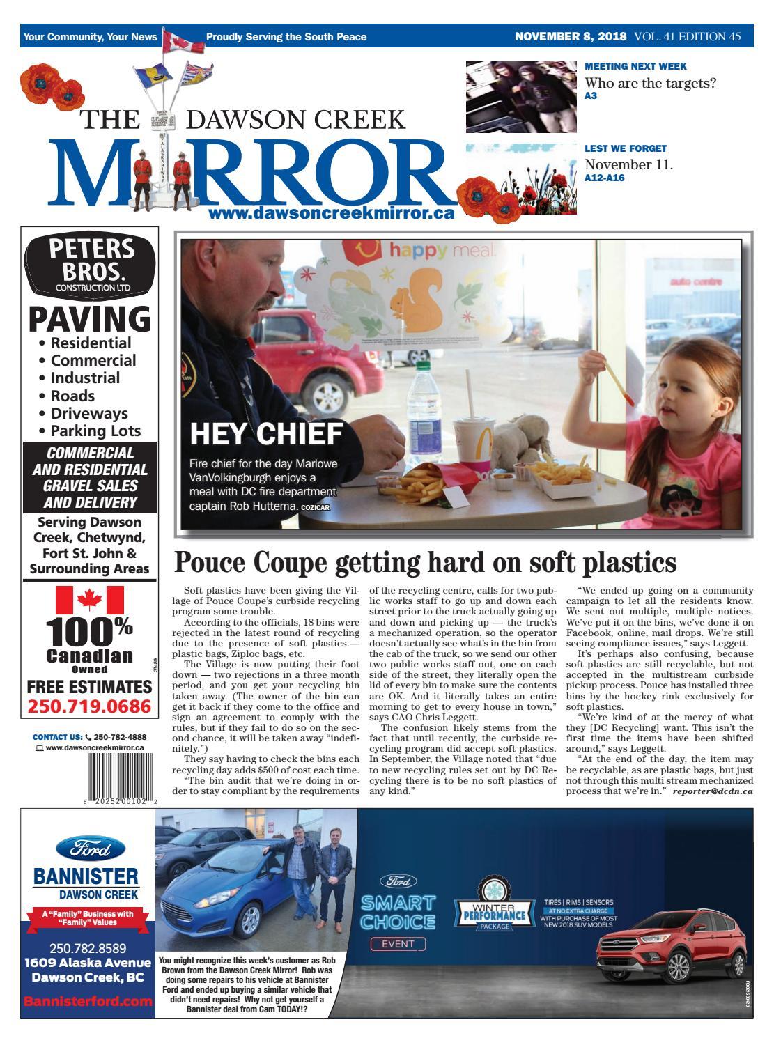 d30f69044a Dawson Creek Mirror 2018-1108 by The Mirror - issuu