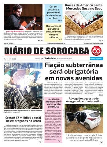 Sexta, 9 de novembro by DIÁRIO DE SOROCABA - issuu 212c5b5c60