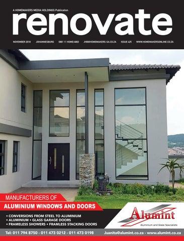 Renovate Johannesburg November 2018 By Homemakers Issuu