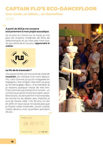 Page 18 of CAPTAIN FLO en ECO-DANCEFLOOR (2013)