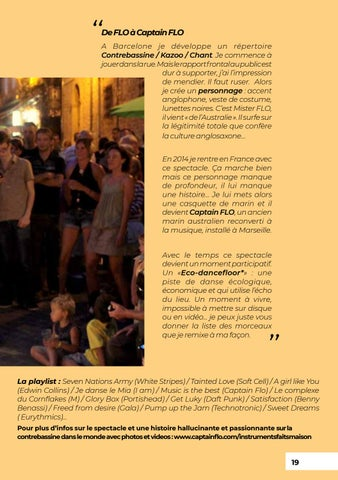 Page 19 of CAPTAIN FLO en ECO-DANCEFLOOR (2013)