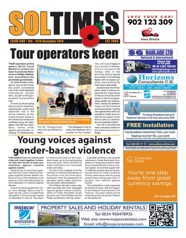 Soltimes Almeria – Issue 660 by Euro Weekly News Media S A