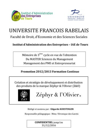 1de952e959fe4 Mémoire en vue de l'obtention du Master Sciences du Management by ...
