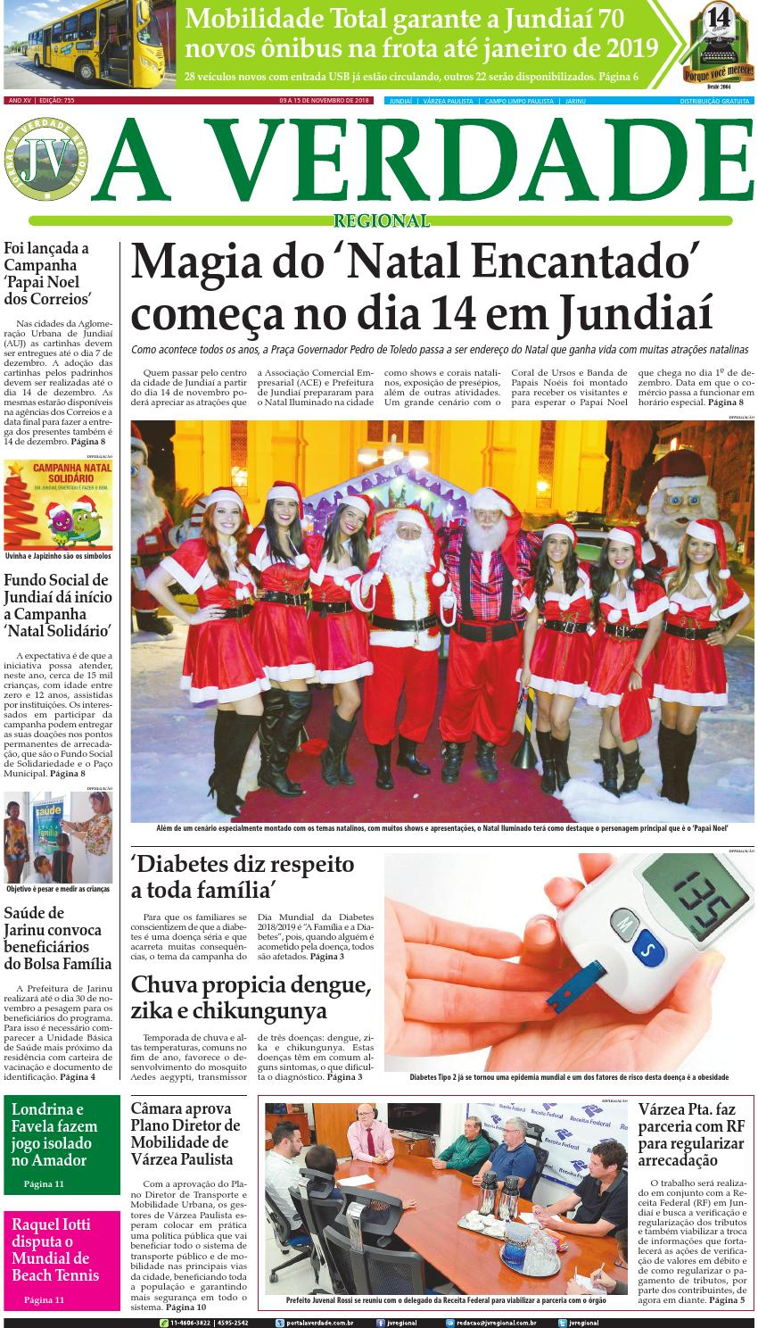 44c8d6762 JV Regional ® - Edição 755 by Jornal A Verdade Regional - issuu