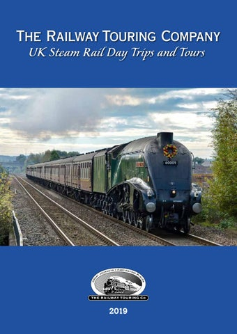 The Railway Touring Company - UK Steam Rail Day Trips and