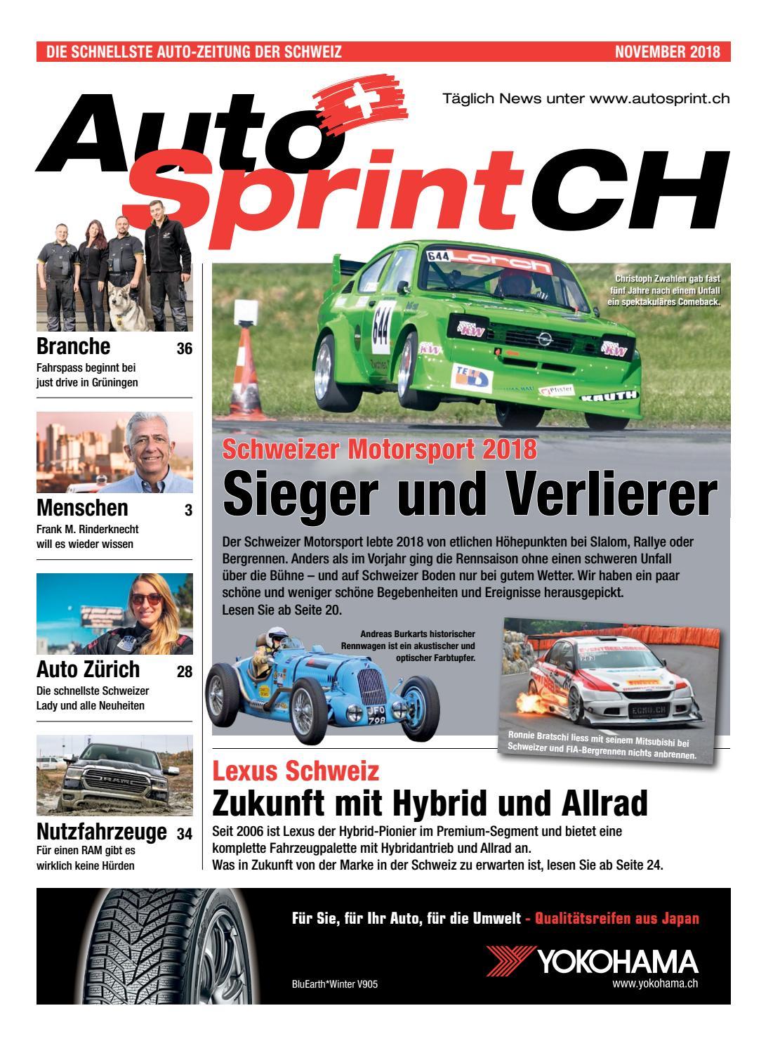 AutoSprintCH 2018 11 DE by AutoSprintCH issuu