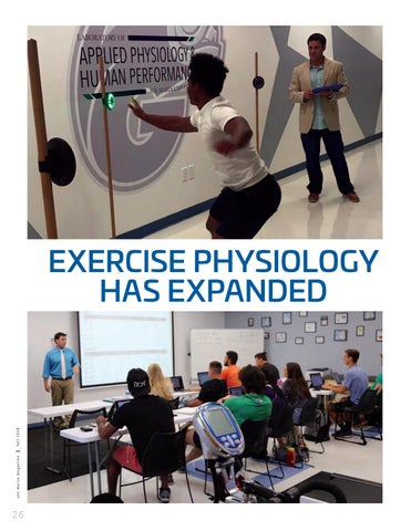 Page 28 of Exercise Physiology Has Expanded