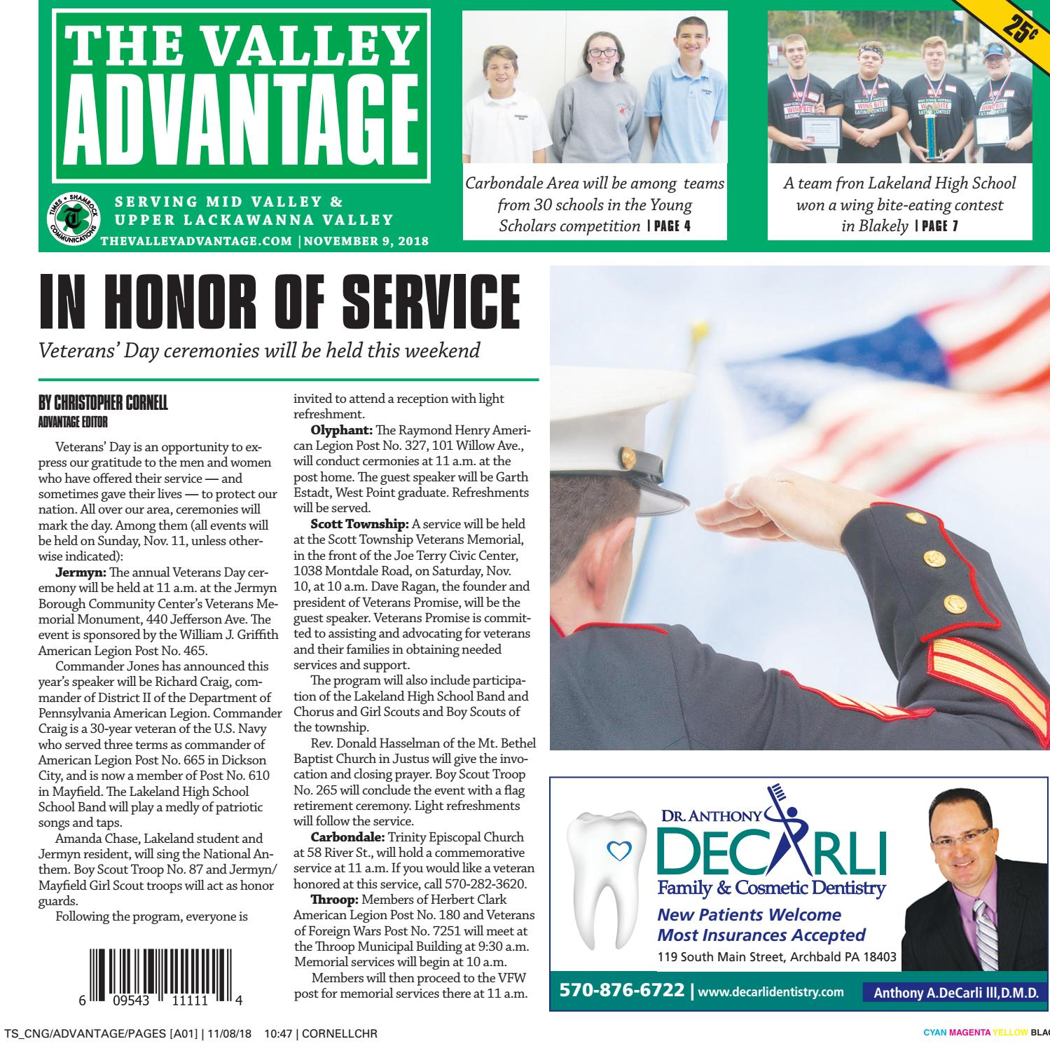 The Valley Advantage--11-09-18 by CNG Newspaper Group - issuu