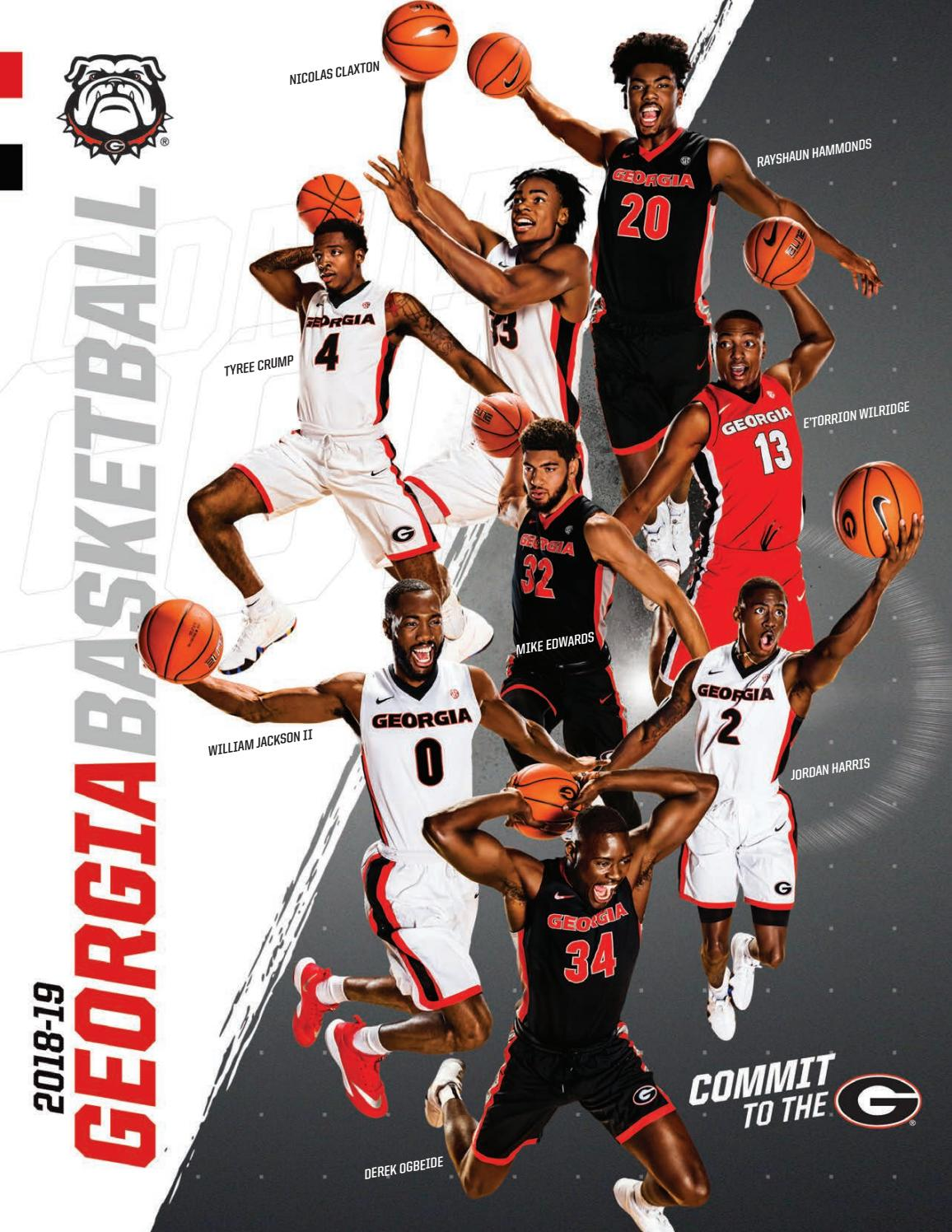 top brands available lower price with 2018-19 Georgia Men's Basketball Media Guide by Georgia Bulldogs ...