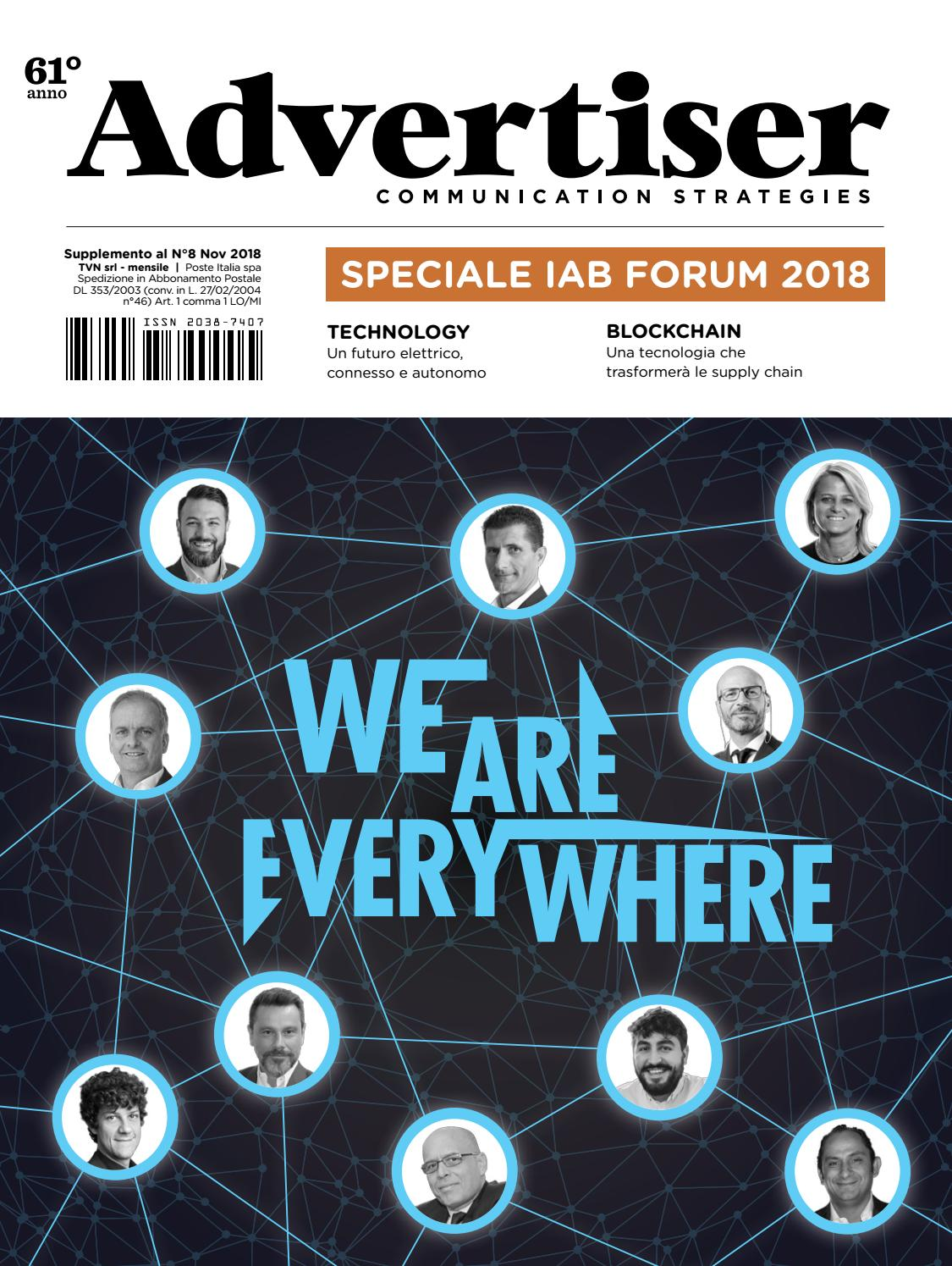 Advertiser - Speciale IAB Forum 2018 by tvnmediagroup5 - issuu cb144f24172