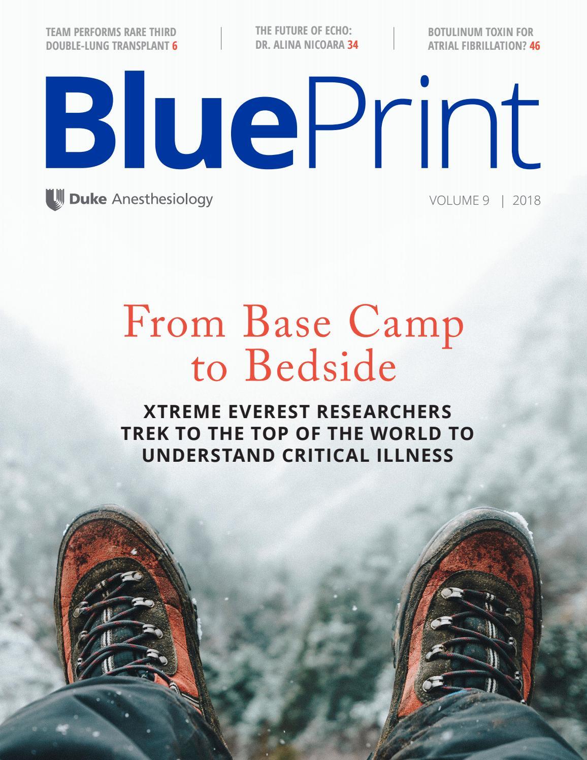 BluePrint 2018 by Duke Anesthesiology - issuu