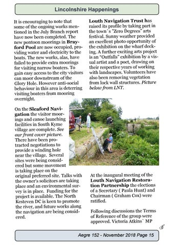 Page 15 of Lincolnshire Branch