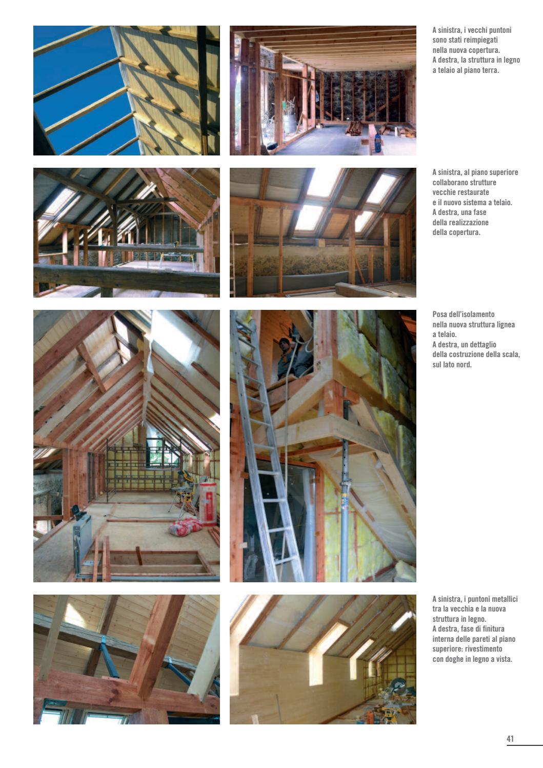 Isolare Parete Interna A Nord legnoarchitettura #13 | vebuka