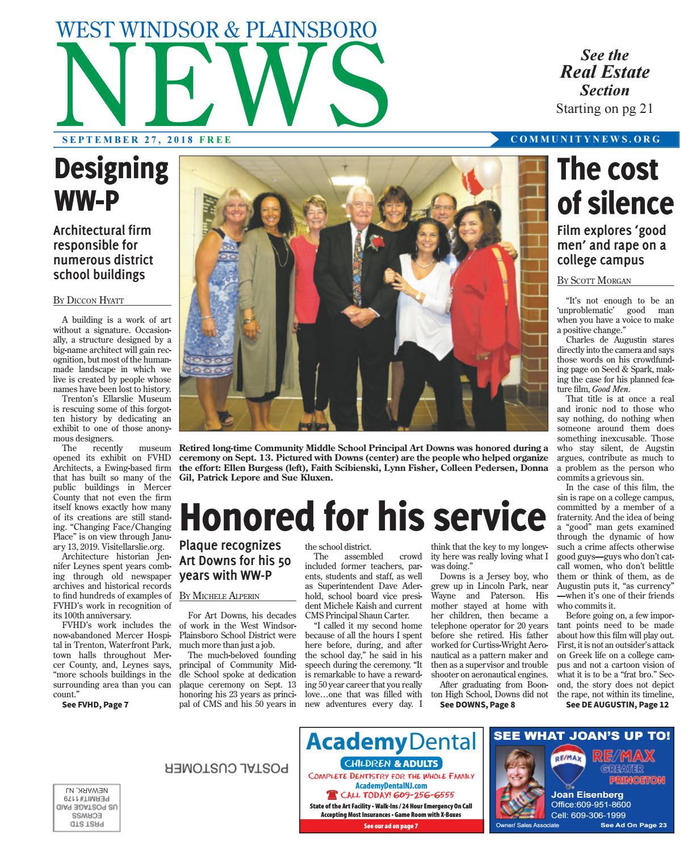 West Windsor & Plainsboro News | Sept  27, 2018 by Community