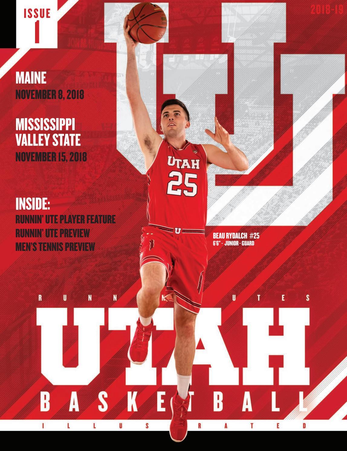 Utah Basketball 2018 19 Issue 1 By Mills Publishing Sports Issuu