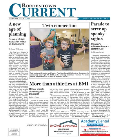 Bordentown Current | October 2018 by Community News Service - issuu
