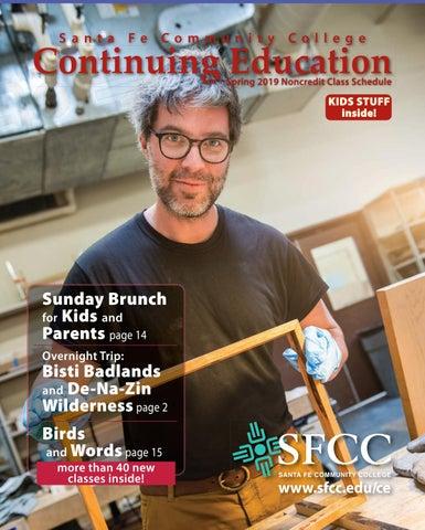 02cc083e527 Spring 2019 SFCC Continuing Education Schedule by Santa Fe Community ...