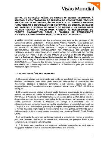 Vagas Conanda 24 by Visão Mundial - issuu 00a7422ce7