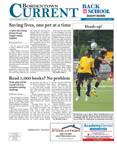 Bordentown Current | September 2018 by Community News Service - issuu