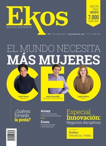 Revista Ekos – Innovación  Negocios disruptivos by Ekos - issuu 917380000cbf8