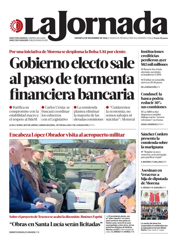 La Jornada 11 09 2018 By La Jornada Issuu