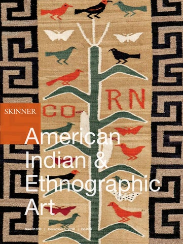 American Indian & Ethnographic Art | Skinner Auction 3185B by