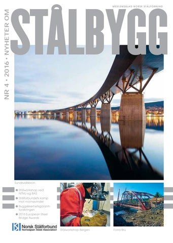 9bd048d03f9 Staalbygg 4 - 2016 by Nyheter om STÅLBYGG - issuu
