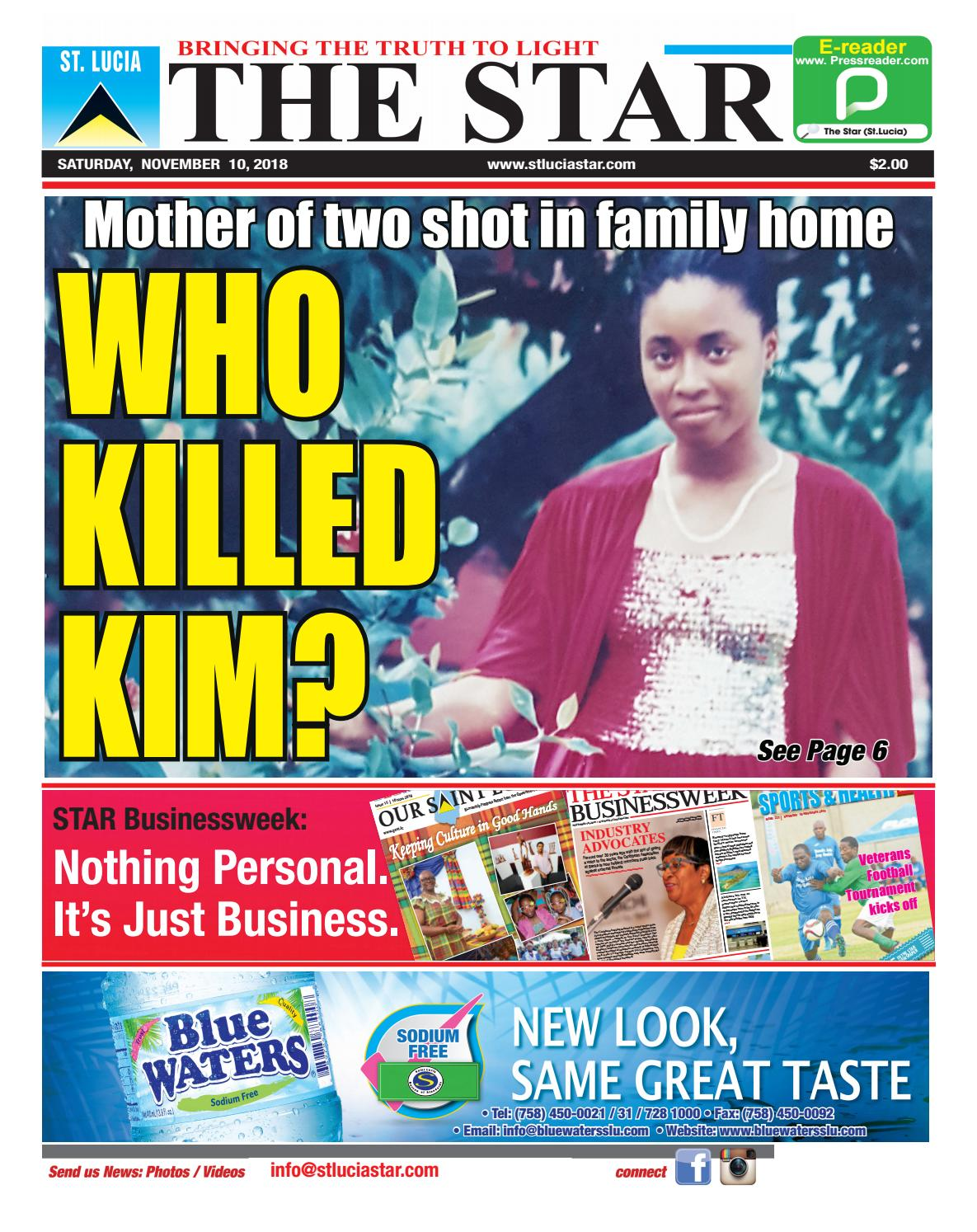 1413f53c4e Mother of two shot in family home by STAR Publishing - issuu