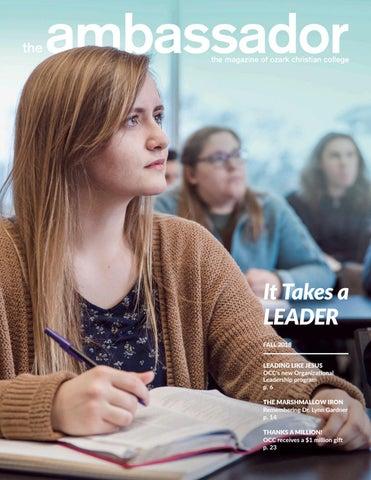 b9a05a4a3d Fall 2018 Ambassador Magazine by Ozark Christian College - issuu