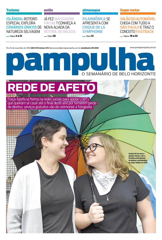 a2871ef61a Pampulha, sábado - 10/11/2018 by Tecnologia Sempre Editora - issuu