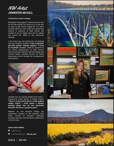 Page 12 of FEATURED ARTIST: Jennifer McGill