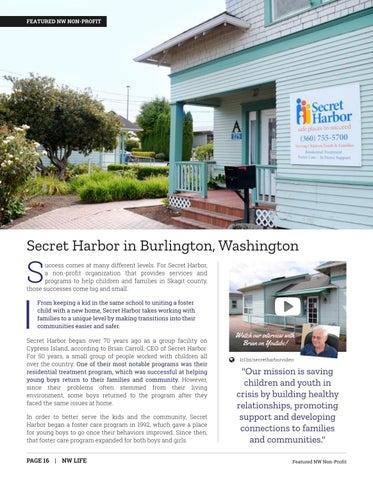 Page 16 of FEATURED NONPROFIT: Secret Harbor